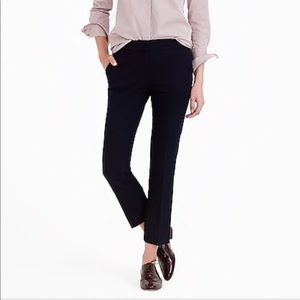 J. Crew Campbell Capri Pant in Black 12 H3041